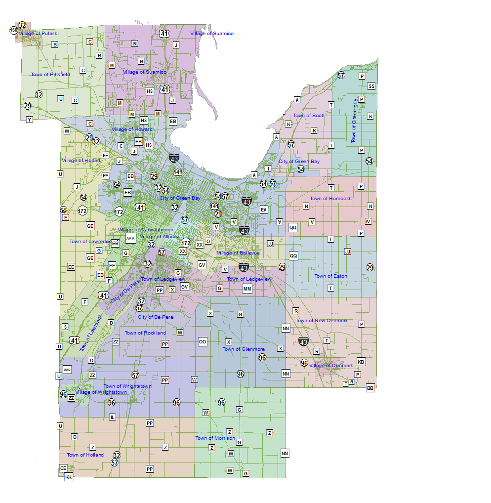 brown county Brown county is a county in the us state of wisconsinas of the 2010 census, the population was 248,007, making it the fourth-most populous county in wisconsin the county seat is green bay.